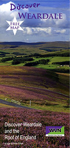 Discover Weardale Map Brochure