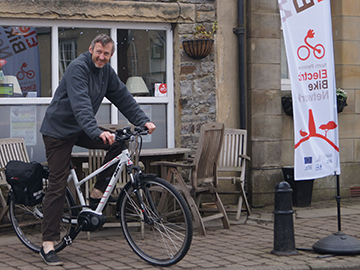 Electric Bike Hire Weardale