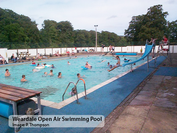 Open Air Swimming Pool Discover Weardale Open Air Swimming Pool